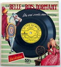 LIVRE-DISQUE 33 TOURS, BELLE AU BOIS DORMANT, No.3220H, GRAVÉ SUR LA COUVERTURE