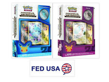 Mew Mythical Collection Box + Manaphy Mythical Pin Set Bundle Generations Packs