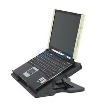 6 Degree Notebook Laptop Cooling Cooler Pad Stand w/ 3 Fan 4 Port USB Hub Black