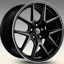 NEW H-762 BY HR RACING WHEELS TO SUIT MERCEDES BENZ IN BLACK C , E AND S CLASS