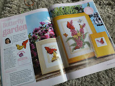 Butterfly Garden Buddleia - maria diaz -  cross stitch chart ch9
