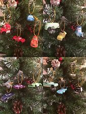 Disney cars Christmas Tree Decorations Set Of 14 Characters UK Seller