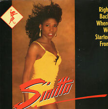 "Sinitta - Right Back Where We Started From - 7 "" Single"