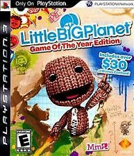 Playstation 3 little big planet game of the year edition video game