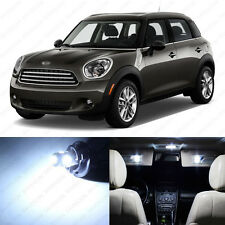 13 x White LED Lights Interior Package For Mini Cooper S Countryman 2011 - 2014