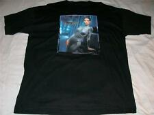 Seven of Nine STAR TREK Voyager Jeri Ryan Black T-Shirt Adult X-Large XL NWOT