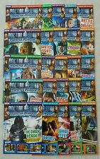 25 issues Dr Doctor Who Monster Invasion magazines job lot Parts 1-25 vgc