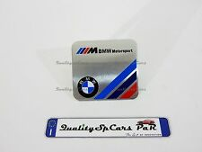 BMW M POWER Motorsport Emblem Badge Logo Sticker Adesivo Metallico Serie 1 3 4 5