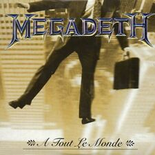 ★☆★ CD Single MEGADETH A tout le monde Promo 1-track CARD SLEEVE  RARE  ★☆★