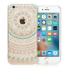 Yousave Accessories Floral Mandala TPU Gel Phone Case Cover for iPhone 6S / 6