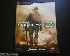 GUIDE stratégique du jeu CALL OF DUTY MODERN WARFARE 2 pour XBOX 360, PS3 & PC