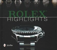 Rolex Highlights by Herbert James  NEW BOOK