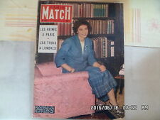 PARIS MATCH N°240 24/10/1953 FREDERIKA DE GRECE DENISE PERRIER MISS MONDE G44