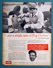 Orig 1958 Animal Care Ad Photo Endorsement by Malcolm Settles of Shelbyville Ind