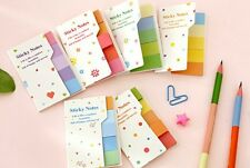 DGCA   Rainbow Mini Sticker Post It Bookmark Marker Flags Index Tab Sticky Notes