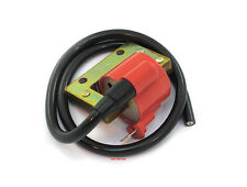 Emgo Universal Single Output Red Vintage Motorcycle Ignition Coil - 24-71532