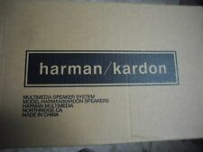 New in box ! Harman Kardon Multimedia Speaker Systems beige with power supply