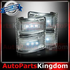 Clear Lens White LED Side Mirror Marker Light 2008-2016 Ford F250 F350 F450 F550
