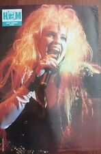 JANET GARDNER_VIXEN_HARD ROCK_RARE POSTER_from AUSTRALIA Heavy Metal Hard Rock