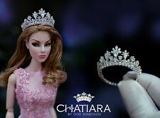 Diamond  Crown  Tiara Barbie Fashion Royalty Dolls
