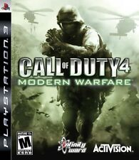 Call of Duty 4: Modern Warfare - Playstation 3 Game