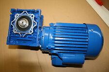 Schneckengertiebe nmrv 05, 0,37kw 1400/35 u/min, b3, boîte de vitesse moteur, moteur électrique