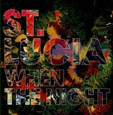 1 CENT CD When the Night - St. Lucia
