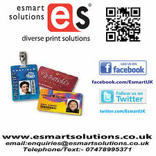 PVC Printed Photo ID Card x 1 (FREE P&P UK)