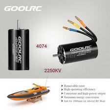 GoolRC 4074 2250KV 4 Poles Brushless Sensorless Motor RC Boat 1000mm+  K4E5