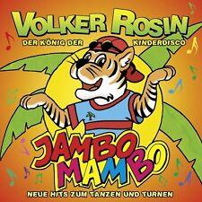 VOLKER ROSIN - DER KÖNIG DER KINDERDISCO - JAMBO MAMBO  CD NEU