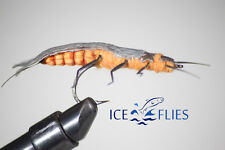 ICE FLIES. Realistic fly. Caddies Adult ( 2-pack) No 4.