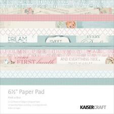 "Kaisercraft Peek-A-Boo 6.5""x6.5"" Specialty Paper Pad PP1008 40 Sheets"