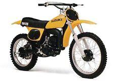 1975 1976 1977 Suzuki RM100 125 250 370  1978 1979 TS250 Tank Decal Stickers