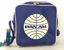 Pan Am Defiance Pan Am Blue/White Vintage Style Travel Bag Tote