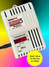 Safety Siren Pro-3 Radon Gas Detector! - World Wide Power Adaptor Included!