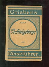 Griebens Band 35 FICHTELGEBIRGE Reiseführer 1928