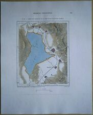 1892 Perron map MORMON COMMUNITIES OF LAKE UTAH AND VALLEY OF JORDAN RIVER (#781