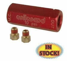 Wilwood Residual Brake Pressure Valve - 10 psi Red - 260-3279