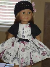 DOLL CLOTHES CUSTOM MADE IN THE USA FOR AMERICAN GIRL-  DRESS LOT