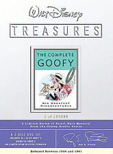 Walt Disney Treasures: The Complete Goofy (DVD, 2002, 2-Disc Set, Collectable)
