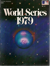 1979 WORLD SERIES Official color Program