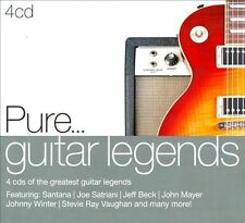 Pure... Guitar Legends [Digipak] by Various Artists (CD, Mar-2012, 4 Discs,...
