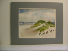 ORIGINAL WATERCOLOR PAINTING CALLED SAND DUNES AT PAWLEY'S ISLAND