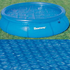 BESTWAY 12FT FAST SET SWIMMING POOL SOLAR COVER BW58062 EBAY CHEAPEST CLEARANCE