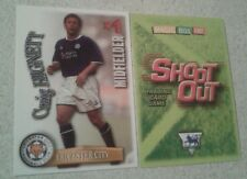 SHOOT OUT CARD 2003/04 (03/04) - Green Back - Leicester - Craig Hignett