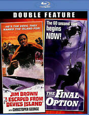 I ESCAPED FROM DEVIL'S ISLAND / THE FINAL OPTION (Action) BLU-RAY