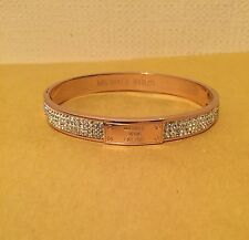 Michael Kors Bracelet Rose Gold Diamonds Bangle