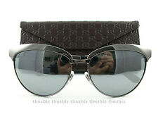 New Gucci Sunglasses GG 4249/S Dark Ruthenium KJ1T4 Authentic