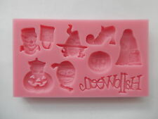 Halloween Silicone Pumpkin Mould Cake Decoration Icing Chocolate Fimo Sugarpaste