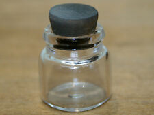 Dolls House Miniature    Glass Jar with Cork Stopper    KA276